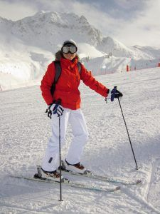 Skiing Winter Exercise