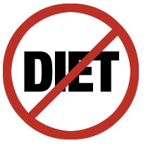 No Diet Icon