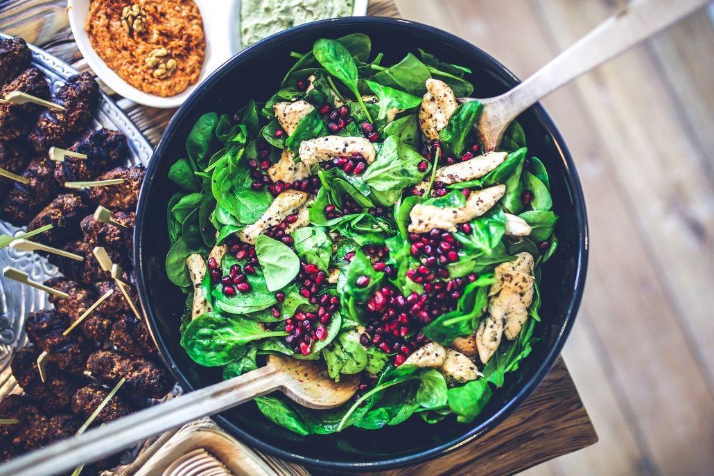 spinach.chicken.salad
